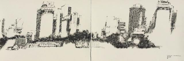 PAUL NICKSON ATIA, 'Dataran Merdeka', 2018, Galeri Rumah Lukis