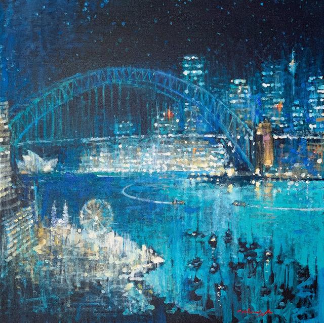 David Hinchliffe, 'Starry Skies Sydney', ca. 2019, Wentworth Galleries