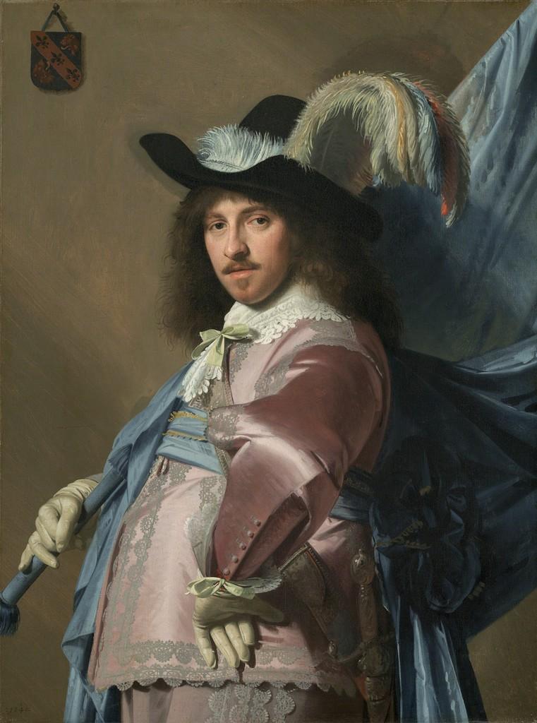 Jan Verspronck, 'Andries Stilte as a Standard Bearer,' 1640, National Gallery of Art, Washington, D.C.