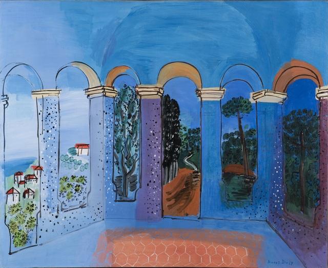 , 'La Terrasse à Vallauris,' 1927, Trinity House Paintings
