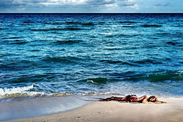 David Drebin, 'Mermaid In Paradise II', 2014, Isabella Garrucho Fine Art