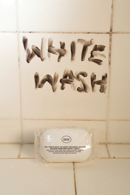, 'White Wash Ad, p13 from Indigenous Woman,' 2018, RYAN LEE