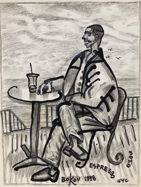 , 'Man by the Sea,' 1998, Van Der Plas Gallery