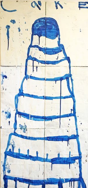 , 'Cake (Blue on Crème),' 2014, Madelyn Jordon Fine Art