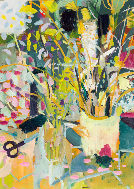 , 'Cutting Wild Flowers,' 2017, Candida Stevens Gallery