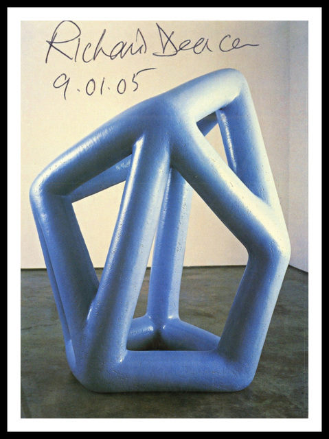 Richard Deacon, 'Kind of Blue (Hand Signed and Dated)', 2005, Alpha 137 Gallery