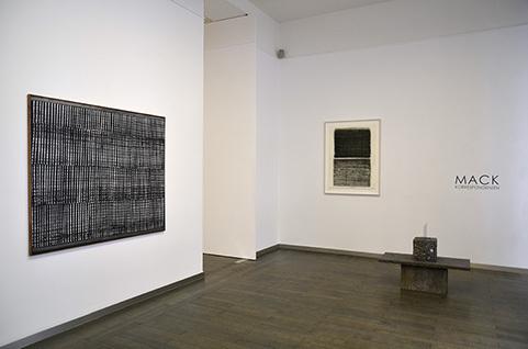 Mack. Korresondenzen | installation view | Beck & Eggeling, Düsseldorf 2016