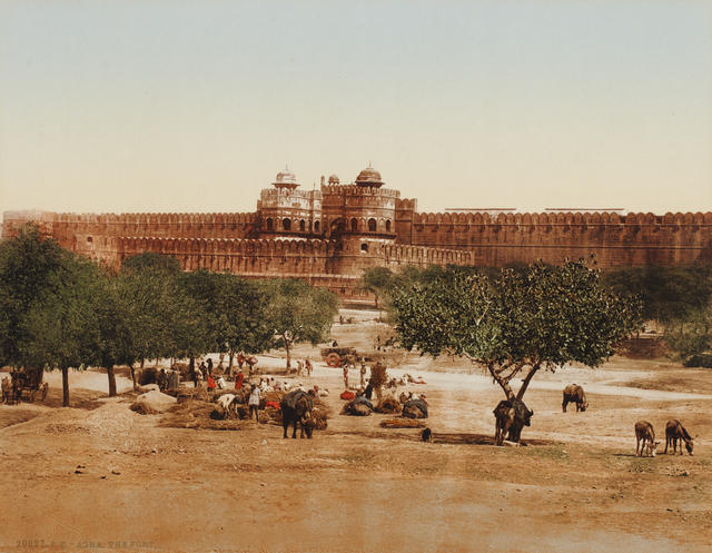, 'Red Fort, Delhi,' unknown, Sarmaya