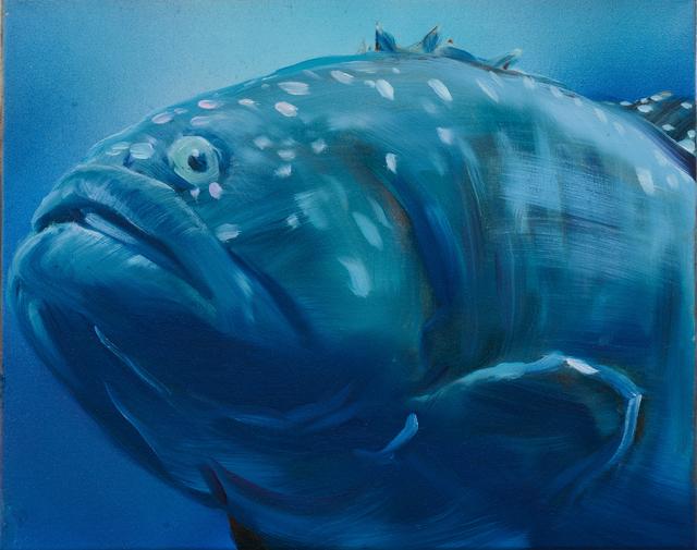 , 'Blue Grouper,' 2016, Rosamund Felsen Gallery
