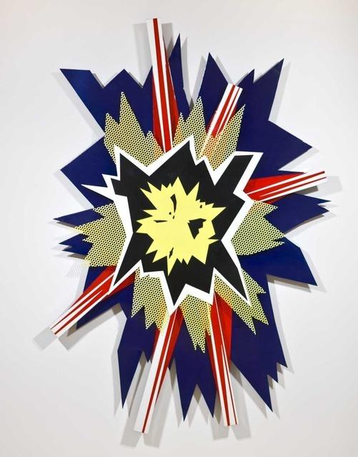 , 'Explosion II,' 1965, Gagosian Gallery