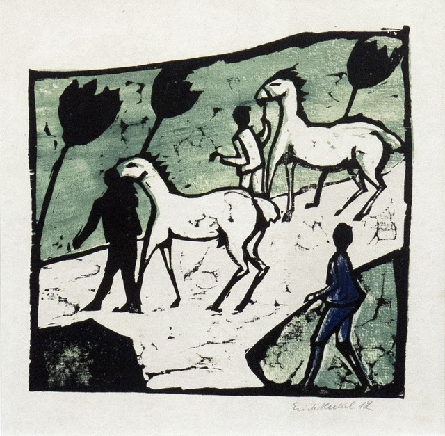, 'White horses,' 1912, Galerie Thomas