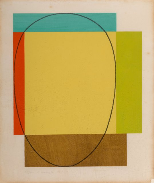 Robert Mangold, 'Five Color Frame', 1985, Heritage Auctions