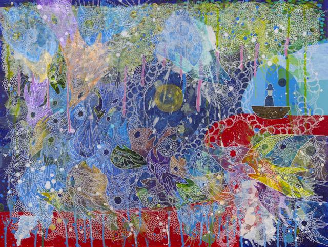 Miki Yokoyama, 'River of Blood', 2019, Disruptive Canvas