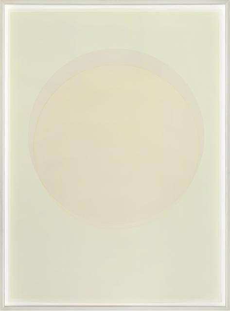, 'Large watercolour orange circle,' 2015, PKM Gallery