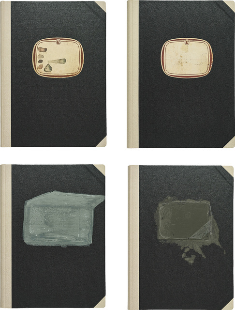 "Joseph Beuys, '4 Bücher aus: ""Projekt Westmensch"" (4 Books, from: ""Project West Man"")', 1958/1992, Phillips"