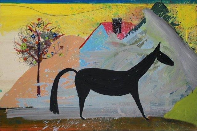 , 'Untitled (horse landscape etc),' 2018, Jahn und Jahn