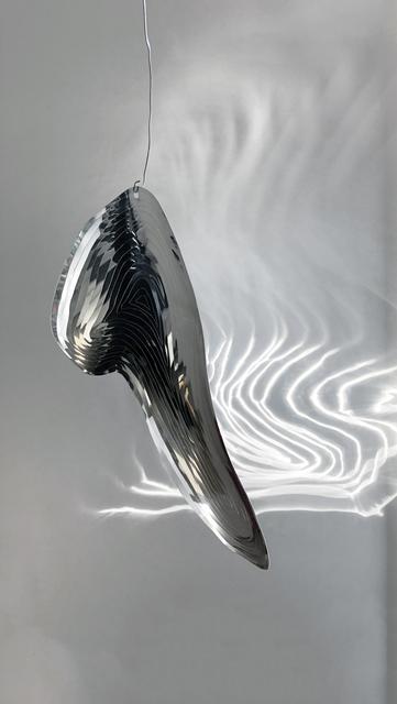 """, '""""Large Lines Aluminium Ornament"""",' 2019, SIRIN"""