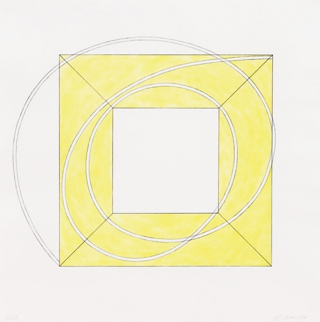 , 'Framed Square with Open Center A,' 2013, Talley Dunn Gallery