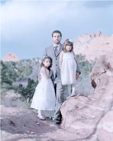 , 'Laila Sa, 7 years, Antonio Sa & Maya Sa, 5 years. Colorado Springs, Colorado. ,' 2014, Cinnabar