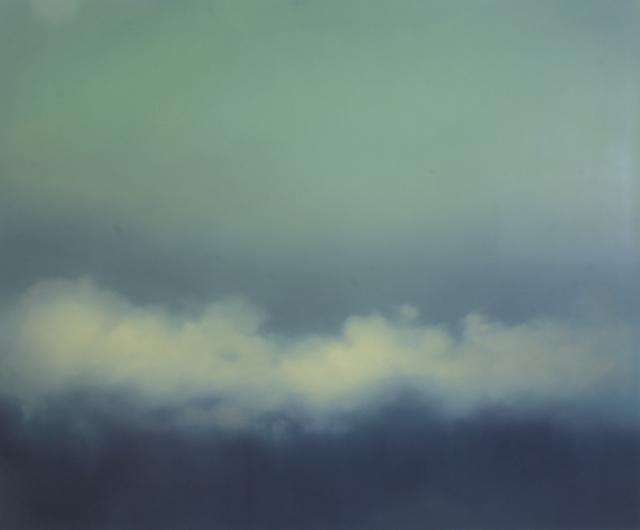 , 'Cloudbank green ,' 2018, GBS Fine Art