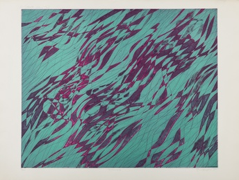 Stanley William Hayter, 'Swimmers (Black and Moorhead 344),' 1970, Forum Auctions: Editions and Works on Paper (March 2017)