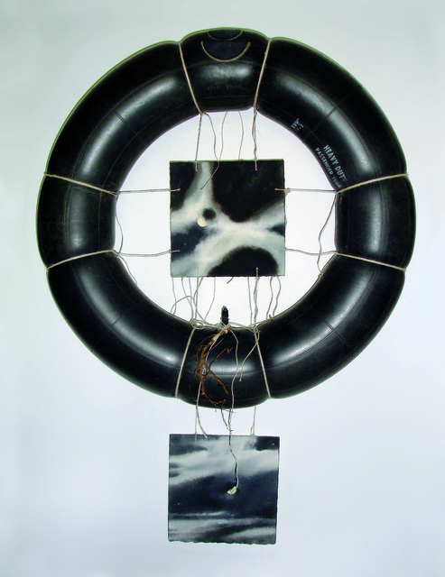 Geoffrey Hendricks, 'Moon.Tire.Root. (Heavy Duty)', 2009, International Collage Center