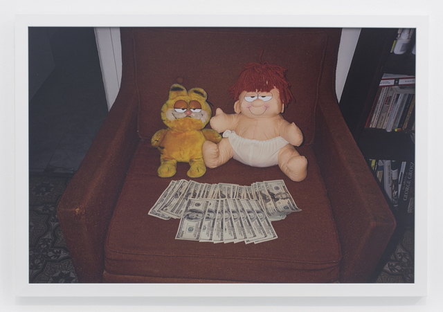 , 'Marvin and garfield on chair,' 2006, The Hole
