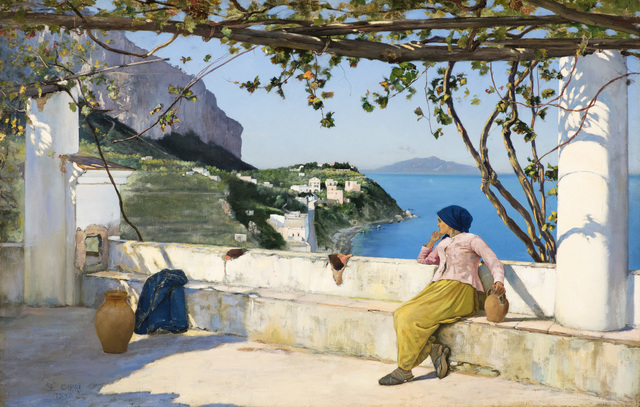 , 'View of Bagni di Tiberio, Capri,' 1897, Godel & Co.