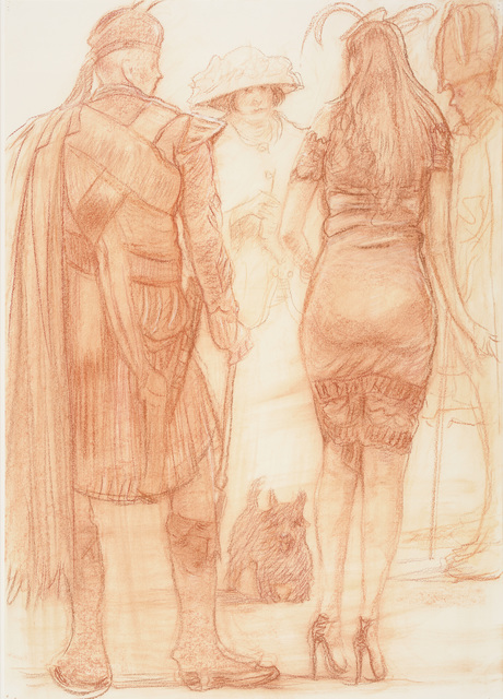 , 'Perth Races, Ladies Day II,' 2016, Thackeray Gallery