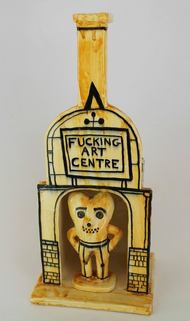 Grayson Perry, 'Fucking Art Centre', 2016, Castlegate House Gallery