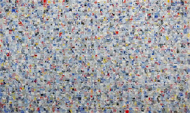 , 'Fugue in Shades and Primaries,' 2016, SILAS VON MORISSE gallery