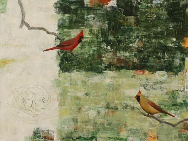 , 'Dynamic Interplay (Cardinals),' 2017, Patricia Rovzar Gallery