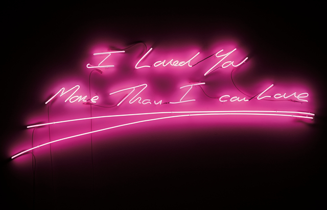 Tracey Emin, 'I Loved You More Than I Can Love', 2009, Installation, Neon, Phillips