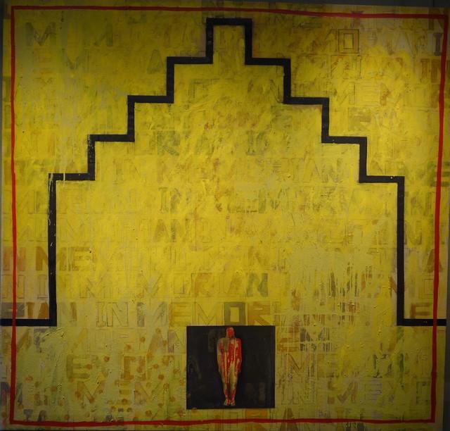 , 'In memoriam III,' ca. 1993, Sala Dalmau