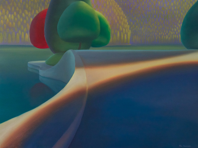 , 'Shadows at the point,' 2018, Ian Tan Gallery
