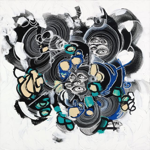 Brandon Boyd, 'The Ground Running', 2021, Mixed Media, Acrylic, Oil, Pastel & Watercolor, Samuel Lynne Galleries