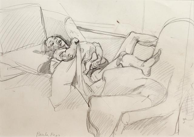 Paula Rego, 'Study for abortion 2', 1999, Galerie Sophie Scheidecker