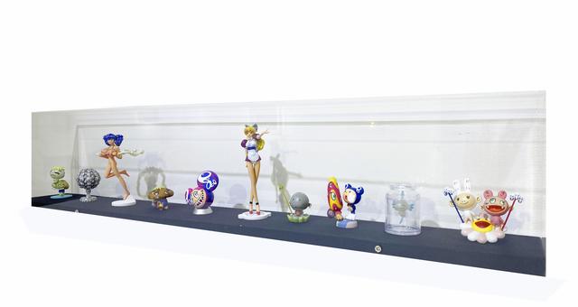 Takashi Murakami, 'Takashi Murakami Super Flat Museum Los Angeles edition figures full SET 10', 2005, uJung Art Center