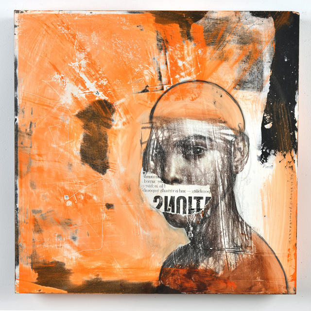 , 'Masked and Muted,' 2015, ArtHelix Gallery