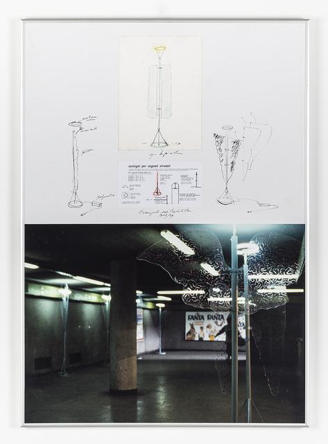 Ugo La Pietra, 'Arcangeli metropoltani', 1979, Galleria Bianconi