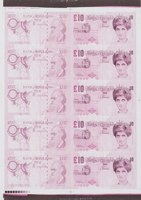 Banksy, 'Di-Faced Tenner (Pink)', 2004, Forum Auctions