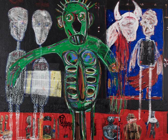 Aboudia, 'Sacrifice Pour les Departs', 2019, Jack Bell Gallery