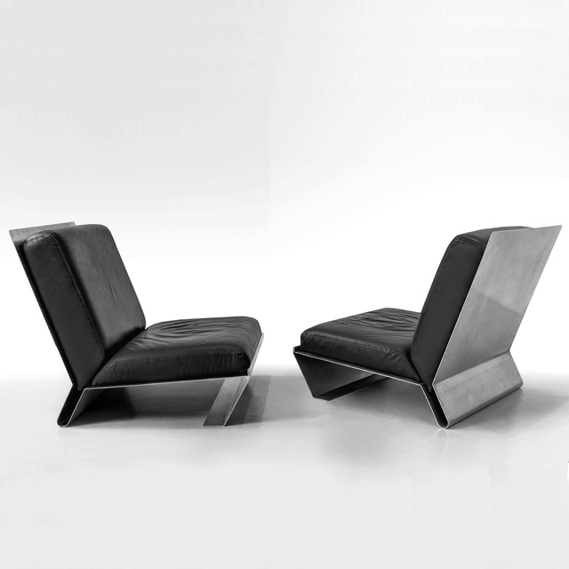 , 'Pair of Chairs,' ca. 1970, Demisch Danant