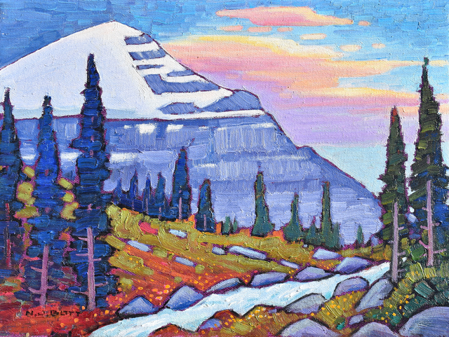 Nicholas Bott, 'Mount Lefroy', 2020, Painting, Oil on Canvas, Madrona Gallery