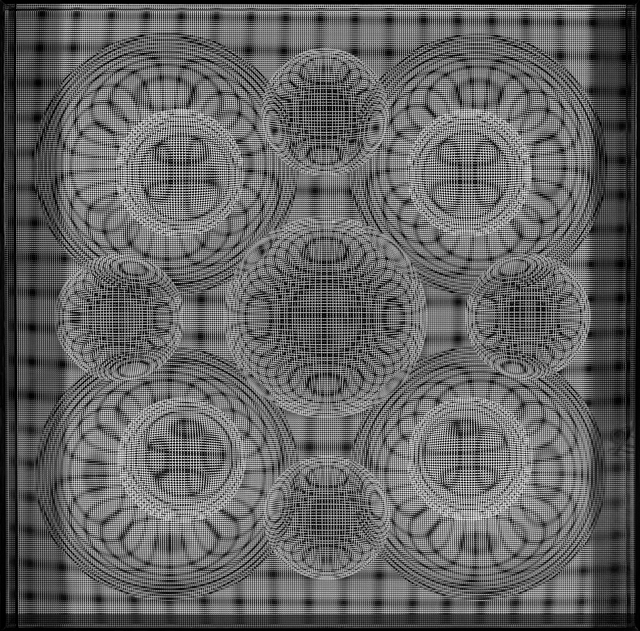 Hector Ramirez, 'Esfera Tension de Orbitas en Gravitacion', 2015, Galería RGR