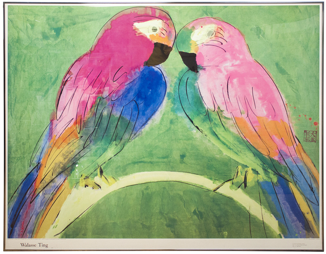 Walasse Ting 丁雄泉, 'Two Parrots', 1990, ArtWise
