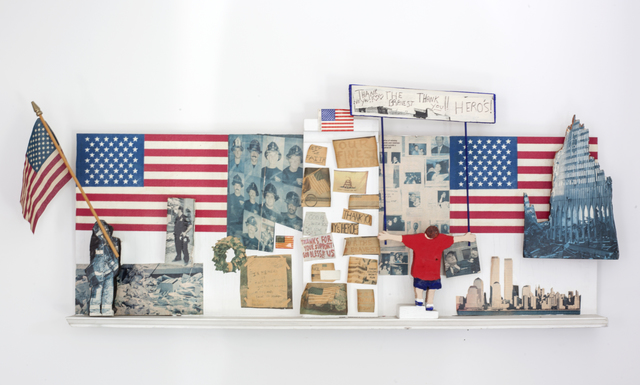 Tommy Thomas, '9/11 Memorial', 2001, VSOP Projects
