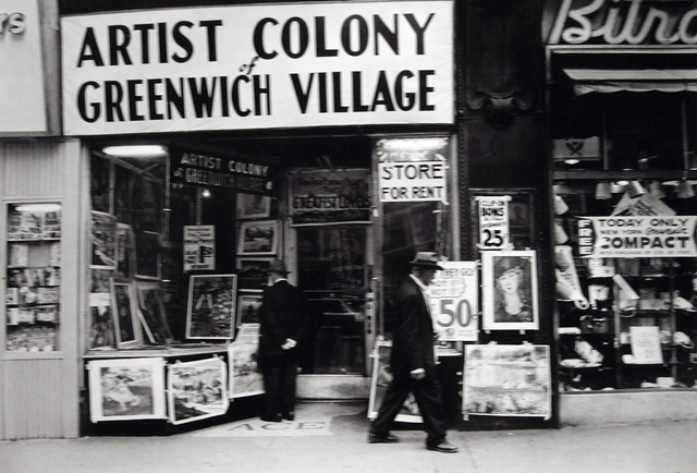 , 'Untitled (Artist Colony of Greenwich Village, 14th Street),' 1955, Bruce Silverstein Gallery