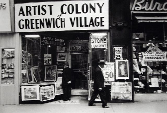 Frank Paulin, 'Untitled (Artist Colony of Greenwich Village, 14th Street)', 1955, Bruce Silverstein Gallery