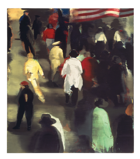Christopher Brown, '1946', 1992, Painting, Oil on canvas, Anderson Collection at Stanford University